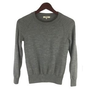 Madewell Gray Sweater Crewneck Women's Size XS
